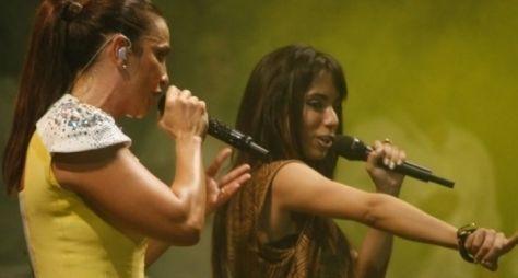 MC Anitta recusou convite de Claudia Leitte, para não se queimar com Ivete
