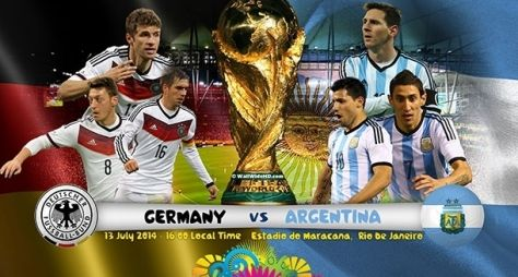 Globo exibe amistoso entre Alemanha e Argentina na quarta-feira