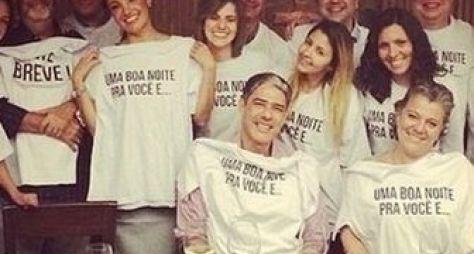 Patrícia Poeta ganha festa de despedida do Jornal Nacional