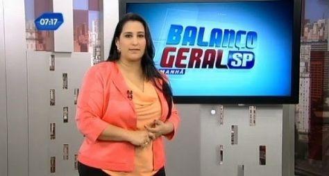 Fabíola Gadelha passa a comandar as duas edições do Balanço Geral SP
