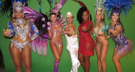Globo grava vinhetas de Carnaval