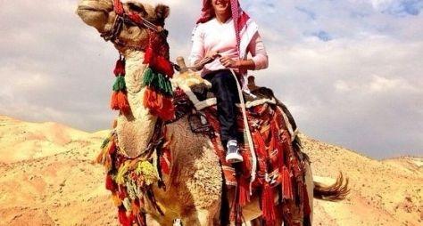 Rodrigo Faro grava especial de Natal em Israel