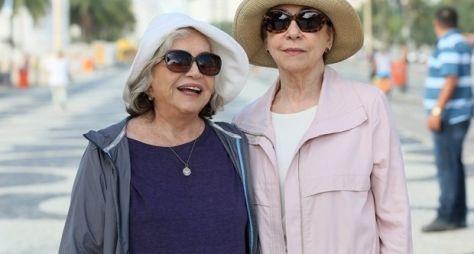Fernanda Montenegro e Nathalia Timberg gravam primeira cena juntas