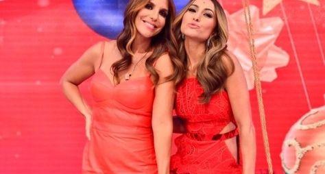 Ivete Sangalo canta, dança e se emociona no Programa da Sabrina