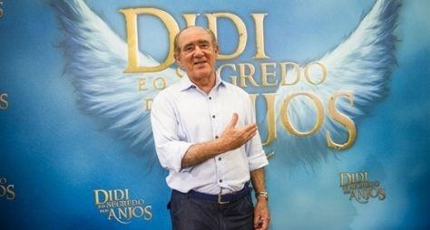 Renato Aragão renova contrato com a Globo