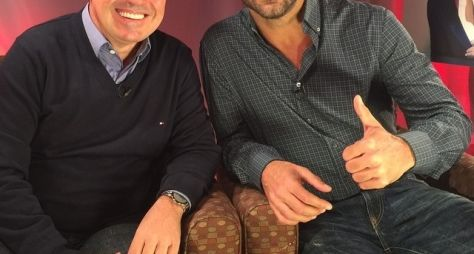 Ricky Martin é o entrevistado de Gugu no programa de hoje à noite