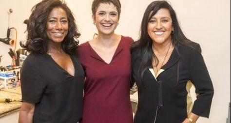 Glória Maria, Sandra Annenberg e Regina Casé estrelam campanha na Globo
