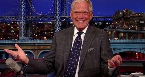 David Letterman convida grandes estrelas para sua despedida