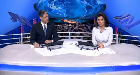 Em Goiânia, Jornal Nacional perde para novelas do SBT e Record