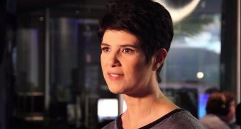 Mariana Godoy Entrevista vai usar o sofá de Hebe Camargo
