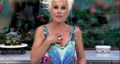 Ana Maria Braga grava entrevista para o Roda Viva