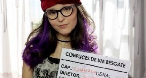 Confira Larissa Manoela caracterizada para Cúmplices de um Resgate