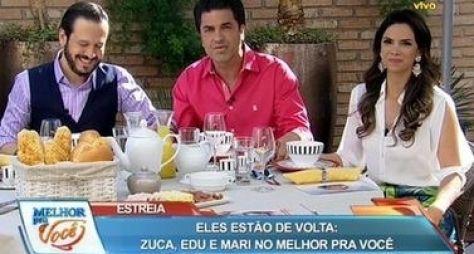 Estreia: Melhor Pra Você não altera audiência da RedeTV!