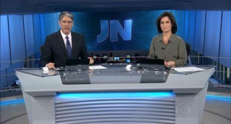 Forte concorrência não abala audiência do Jornal Nacional
