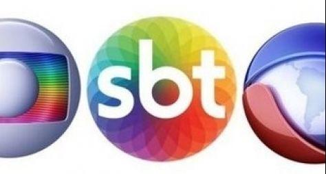 Em junho, SBT mantém vice-liderança com Record; Globo oscila para baixo