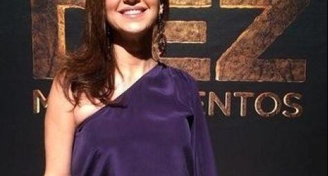 Adriana Garambone colhe frutos do sucesso de vilã em Os Dez Mandamentos