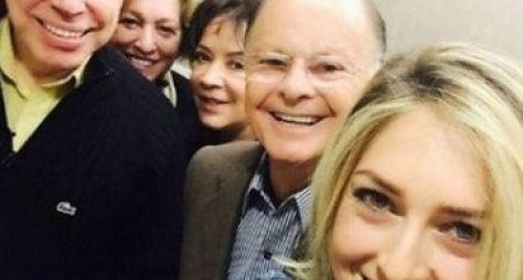 O reencontro de Silvio Santos e Edir Macedo