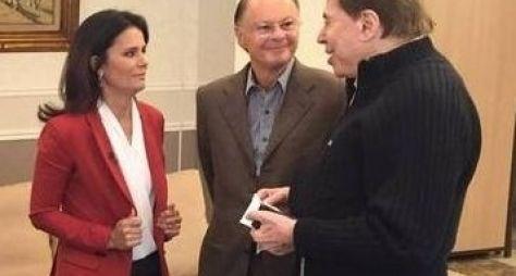 SBT e Record podem fazer exibição simultânea do encontro de Sílvio e Edir Macedo