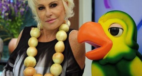 Ana Maria Braga protesta contra a inflação no Mais Você