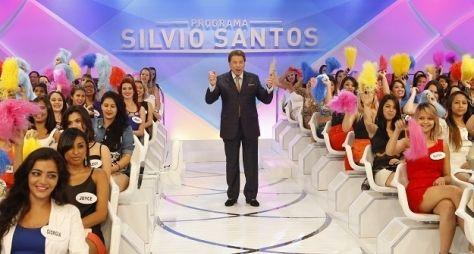 Programa Silvio Santos Silvio Santos vence programa de humor no RJ