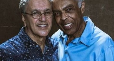 Caetano e Gil serão homenageados no Prêmio Multishow