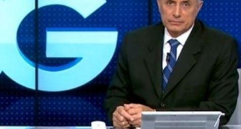 William Waack se irrita com atraso na programação da Globo