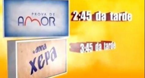 Prova de Amor e Dona Xepa aumentam em 49% a audiência da Record
