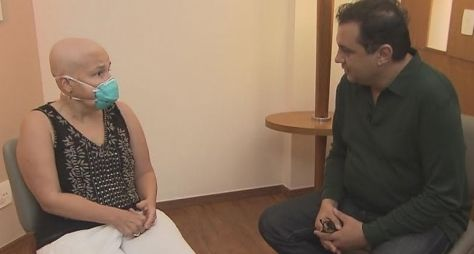 Claudia Rodrigues é submetida a transplante de células-tronco