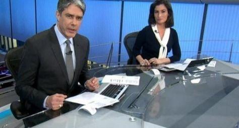 Após crise, Jornal Nacional dispara na audiência e aumenta vantagem sobre Record