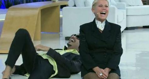 Xuxa grava primeiro programa sob comando de novo diretor
