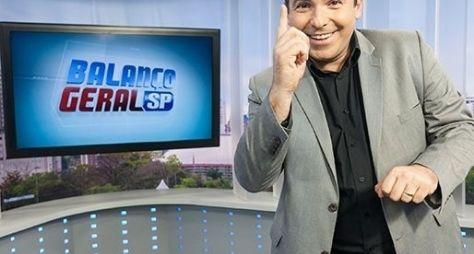 Balanço Geral bate recorde de audiência desde sua estreia, em 2012
