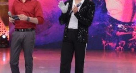Celso Portiolli faz homenagem a Michael Jackson neste domingo (26)