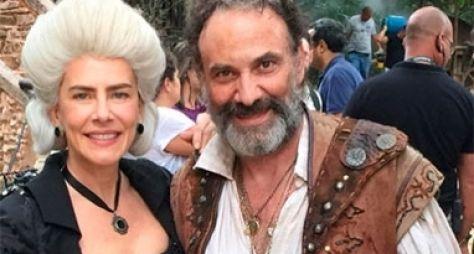 Marco Ricca e Maitê Proença vão estrelar spin-off de Liberdade Liberdade
