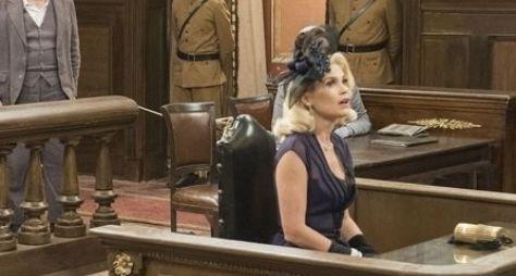 Eta Mundo Bom: Sandra é desmascarada e foge do tribunal