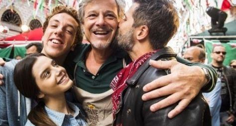 Sol Nascente: As famílias De Angeli e Tanaka se reúnem em festa italiana