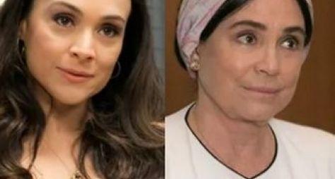 Outra vez: Gabriela Duarte e Regina Duarte dividem personagem de novela