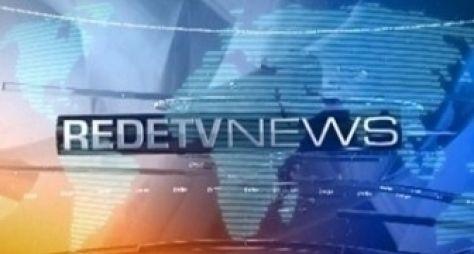 RedeTV ajusta programação para ajudar telejornal