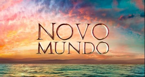 Globo apresenta a logomarca de Novo Mundo