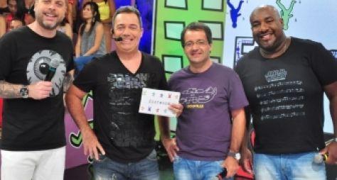 Elenco do Encrenca sonha com terceiro lugar de audiência