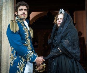 Novo Mundo: Leopoldina e Dom Pedro participam de cortejo pela morte do filho