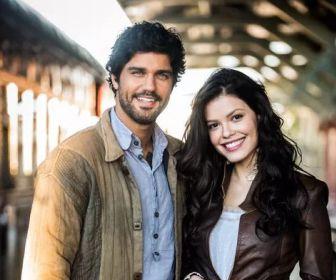 Tempo de Amar: Protagonistas aparecem caracterizados em gravações no Sul
