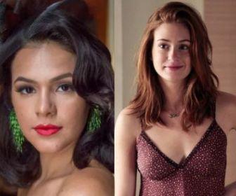 """Marina Ruy Barbosa fala sobre parceria com Marquezine em novela: """"Bem feliz!"""""""