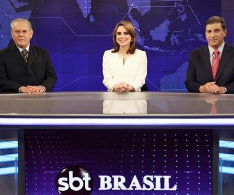 SBT Brasil se torna o jornalístico com maior audiência fora da Globo