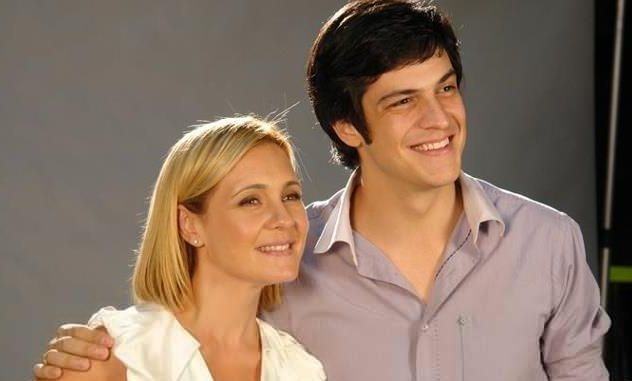 Adriana Esteves e Mateus Solano atuaram juntos em Morde e Assopra. Foto: Divulgação