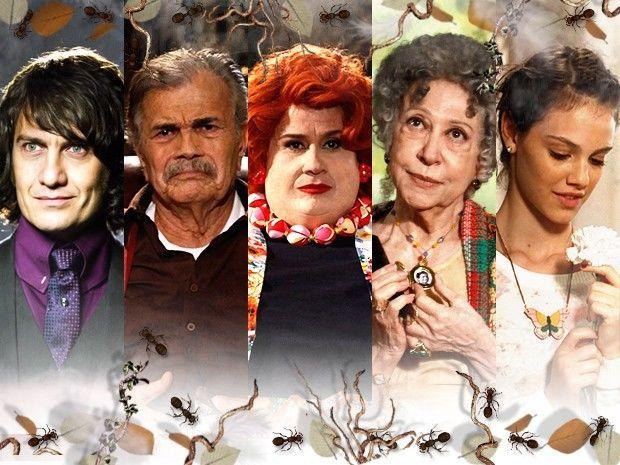 Os personagens de Saramandaia fazem coisas que ninguém acredita (Foto: Saramandaia/TV Globo)