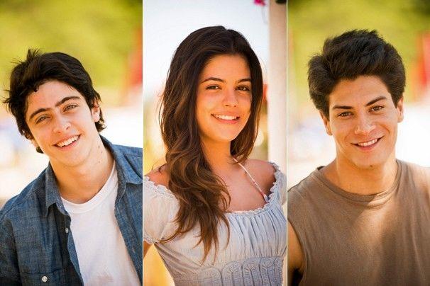 Você vai acompanhar a história Laerte (Eike Duarte), Helena (Julia Dalavia) e Virgílio (Arthur Aguiar) (Fotos: João Miguel JR./Globo)