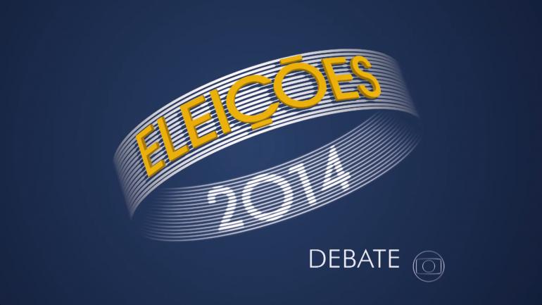 Globo exibe esta noite debate entre candidatos a governador de estado