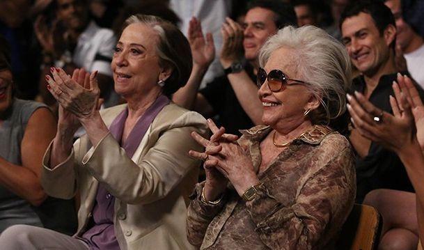 Fernanda Montenegro e Nathalia Timberg vão viver um casal na trama (Foto: Raphael Dias / Divulgação/ TV Globo)