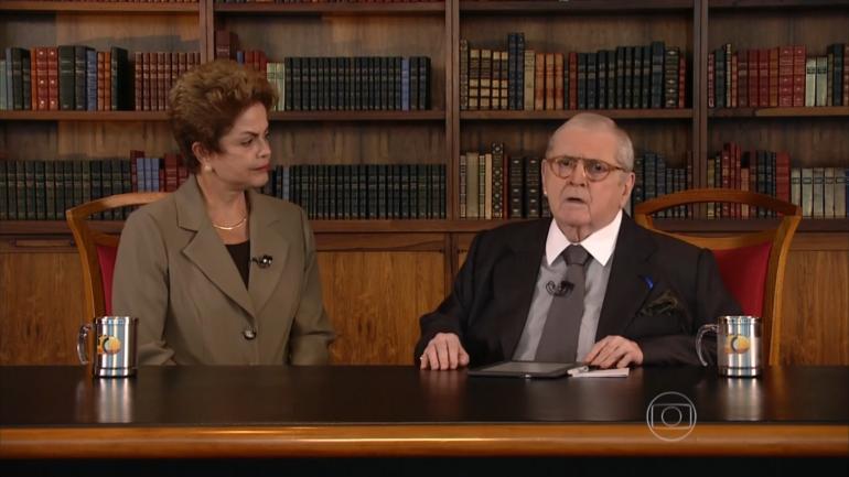 Entrevista com Dilma pode ter sido negativa para Jô na Globo