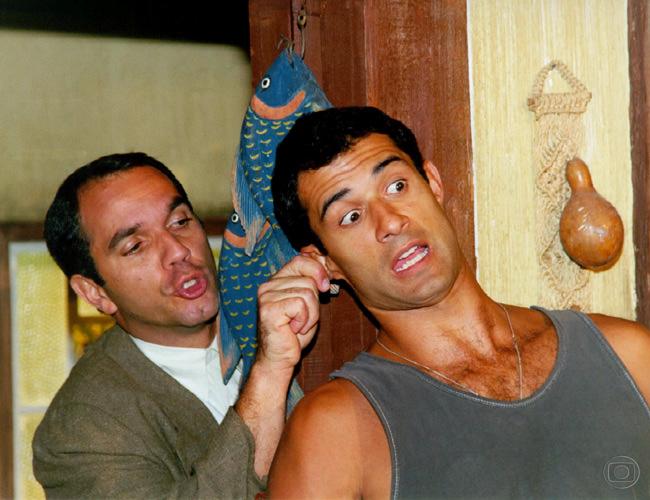 Humberto Martins e Marcos Pasquim. Foto: Divulgação/Globo